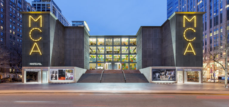 MCA Building (Photo by Peter McCullough, © MCA Chicago)